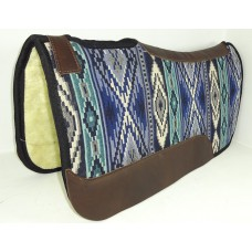 Navajo fabric saddle pad