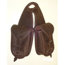 Western Horn Bag Waxed Leather