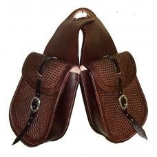 Western Horn Bag Hand Tooled