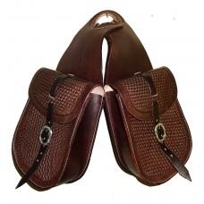 Western Horn Bag Hand Tooled