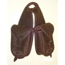 Western Horn Bag Waxed Leather